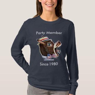 T-shirt Modèle personnalisable - membre de Parti démocrate