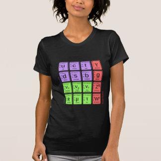 T-shirt Modèle standard des particules élémentaires