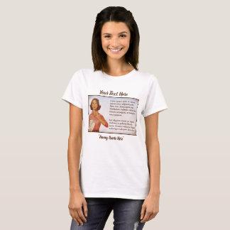 T-shirt Modèle vide d'horoscope