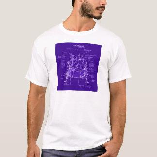 T-shirt Modèles de module lunaire d'Apollo