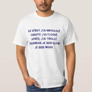 T-shirt Modo bleu