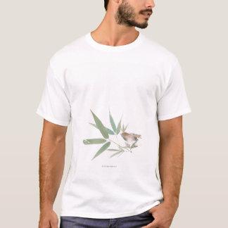 T-shirt Moineau et bambou