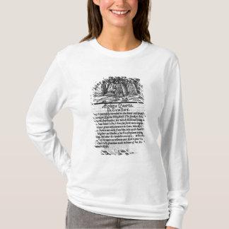 T-shirt Mois d'avril, 'du calendrier de Shepheardes