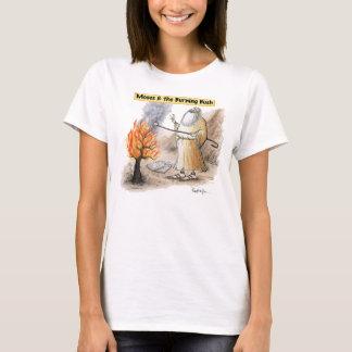 T-shirt Moïse Bush brûlant grillant le tee - shirt de