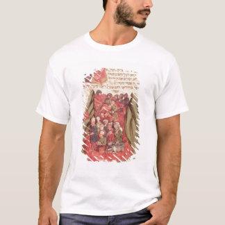 T-shirt Moïse mène les enfants de l'Israël à travers