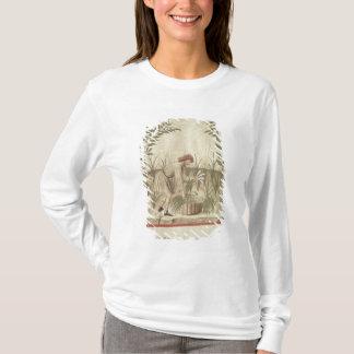 T-shirt Moissonnant des poireaux, de 'Tacuinum Sanitatis