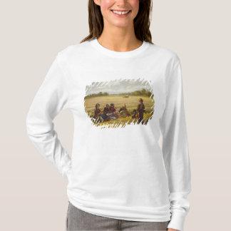 T-shirt Moissonneuses se reposant au soleil, Berkshire,