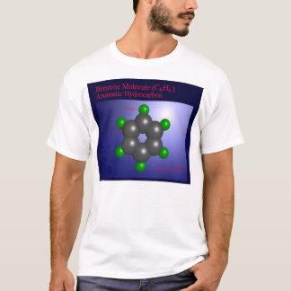 T-shirt Molécule de benzène (avant)
