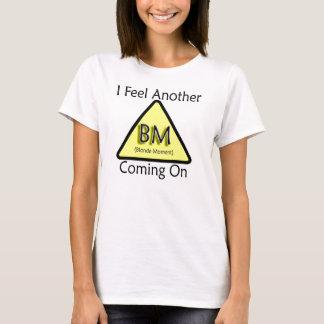 T-shirt Moment blond