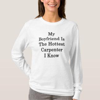 T-shirt Mon ami est le charpentier le plus chaud que je