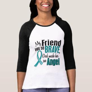 T-shirt Mon ami est un Cancer ovarien de l'ange 1