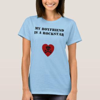 T-shirt Mon ami est un Rockstar