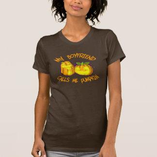 T-shirt Mon ami m'appelle chemise de citrouille