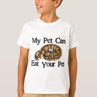 T-shirt Mon animal familier peut manger votre animal