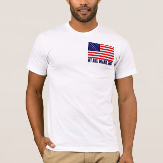 T-shirt Mon anti chemise d'Obama (2 dégrossis)