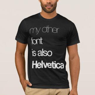 T-shirt Mon autre police