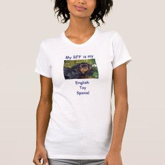 T-shirt Mon BFF est mon épagneul de jouet anglais