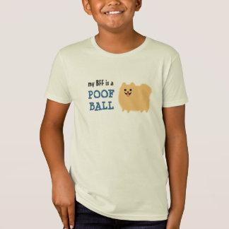 T-Shirt Mon BFF est une boule de pédé - chien drôle de