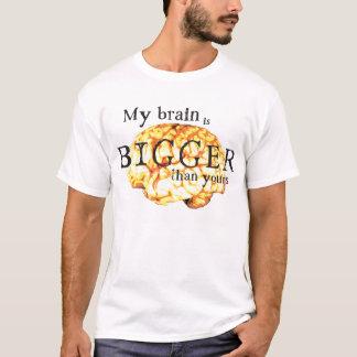 T-shirt Mon cerveau est plus grand que le vôtre