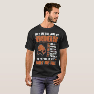 T-shirt Mon chien de Coonhound de Bluetick ils sont la