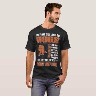 T-shirt Mon chien de lévrier afghan ils sont la meilleure