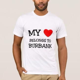 T-shirt Mon coeur appartient à BURBANK