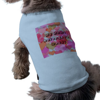T-shirt Mon coeur appartient à la typographie