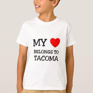 T-shirt Mon coeur appartient à TACOMA