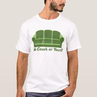 T-shirt Mon divan ou vôtre ?