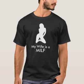 T-shirt Mon épouse est un MILF