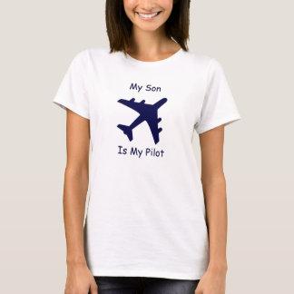 T-shirt Mon fils est mon pilote