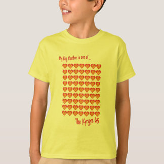 T-shirt Mon frère est l'un des 65 kirghiz