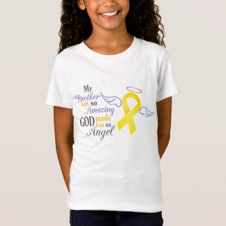 T-Shirt Mon frère un ange - cancer de la vessie