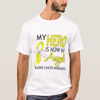 T-shirt Mon héros est mon cancer de la vessie d'ange