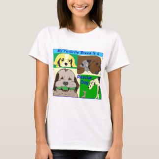 T-shirt Mon meilleur ami est un chien de délivrance