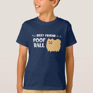 T-shirt Mon meilleur ami est une BOULE de PÉDÉ -