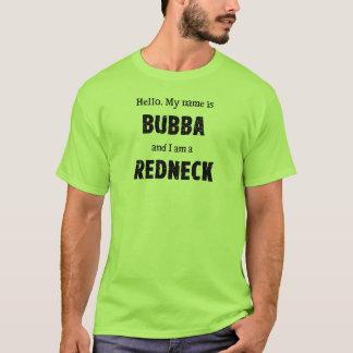 T-shirt Mon nom est Bubba