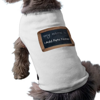 T-shirt Mon nom est - habillement personnalisé d'animaux