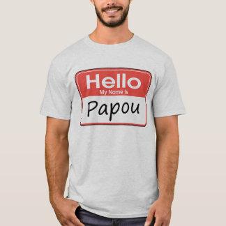 T-shirt Mon nom est Papou