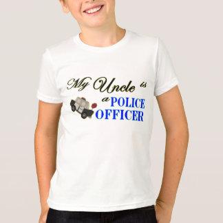 T-shirt Mon oncle est un policier