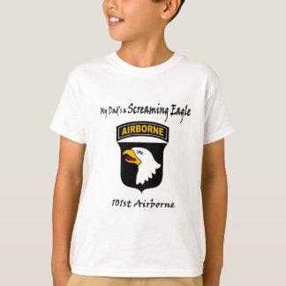 T-shirt Mon papa est Eagle criard