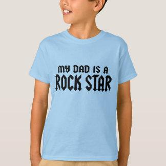 T-shirt Mon papa est un Rockstar