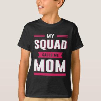 T-shirt Mon peloton m'appelle maman