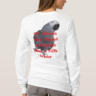 T-shirt Mon perroquet de gris africain…