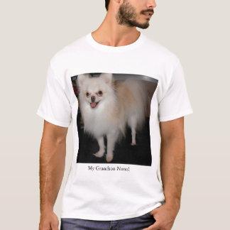 T-shirt Mon petit-fils de Pomeranian