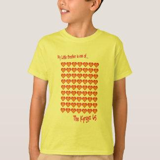 T-shirt Mon petit frère est l'un des 65 kirghiz