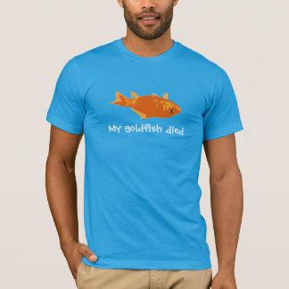 T-shirt Mon poisson rouge est mort
