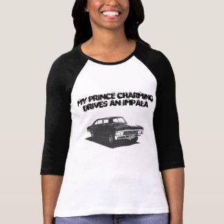 T-shirt Mon prince charme conduit un impala