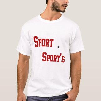 T-shirt Mon sport est la punition de votre sport - femelle
