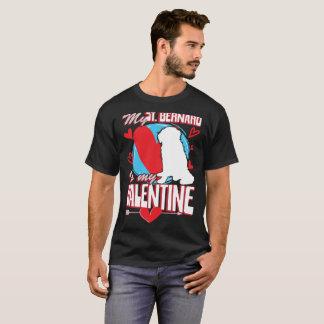 T-shirt Mon St Bernard est mes SOLIDES TOTAUX drôles